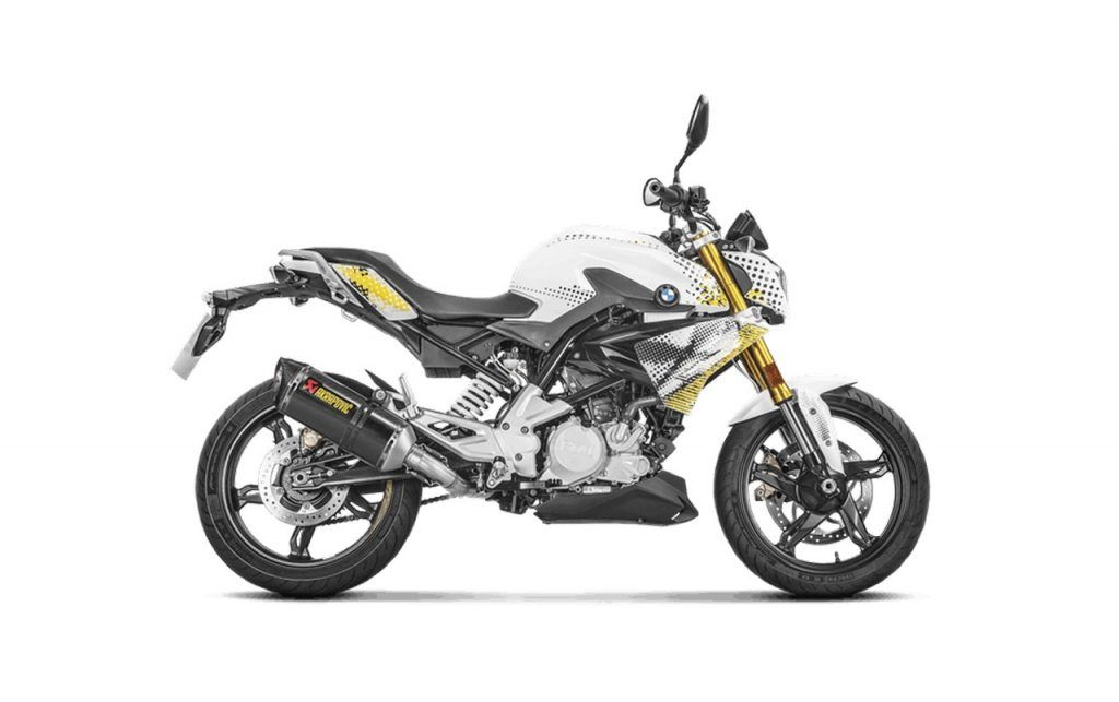 Bmw G310r Gets New Optional Exhaust System By Akrapovic Super