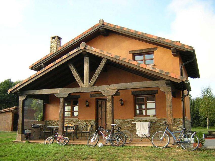 Clic aqui para aumentar tama o de la imagen casas con - Casas rurales modernas ...