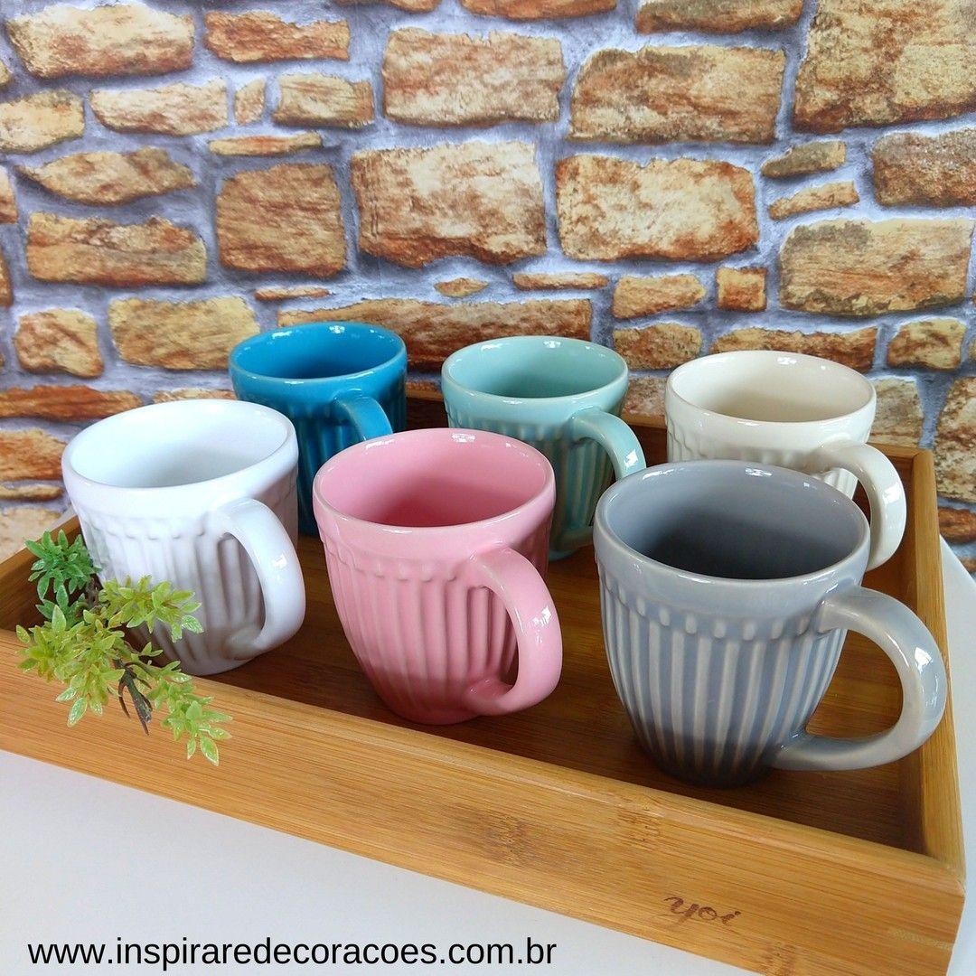 Canecas Roma 320ml Porto Brasil 1 Linh Itens De Cozinha Decoracao Cozinha Fofa Louca De Ceramica