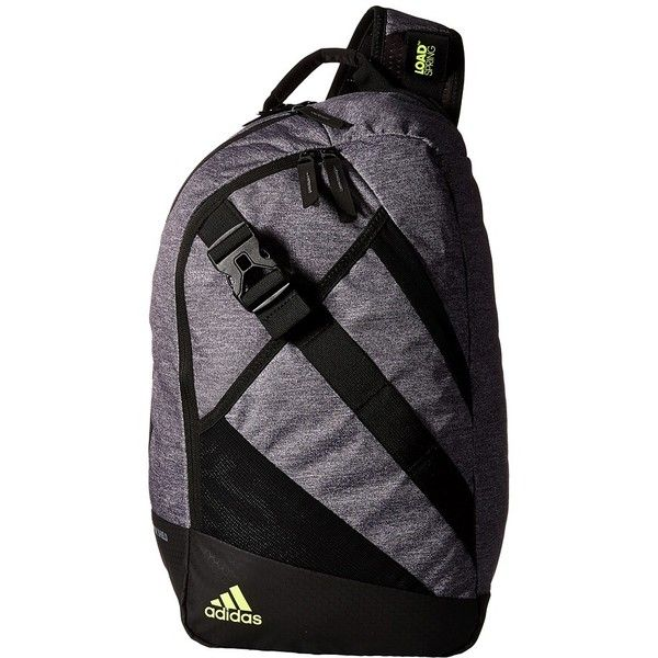 2abbbdd90e3 adidas Citywide Sling (Heather Granit Black Solar Yellow) Backpack... ( 65)  ❤ liked on Polyvore featuring bags, backpacks, laptop backpack, laptop sling  ...