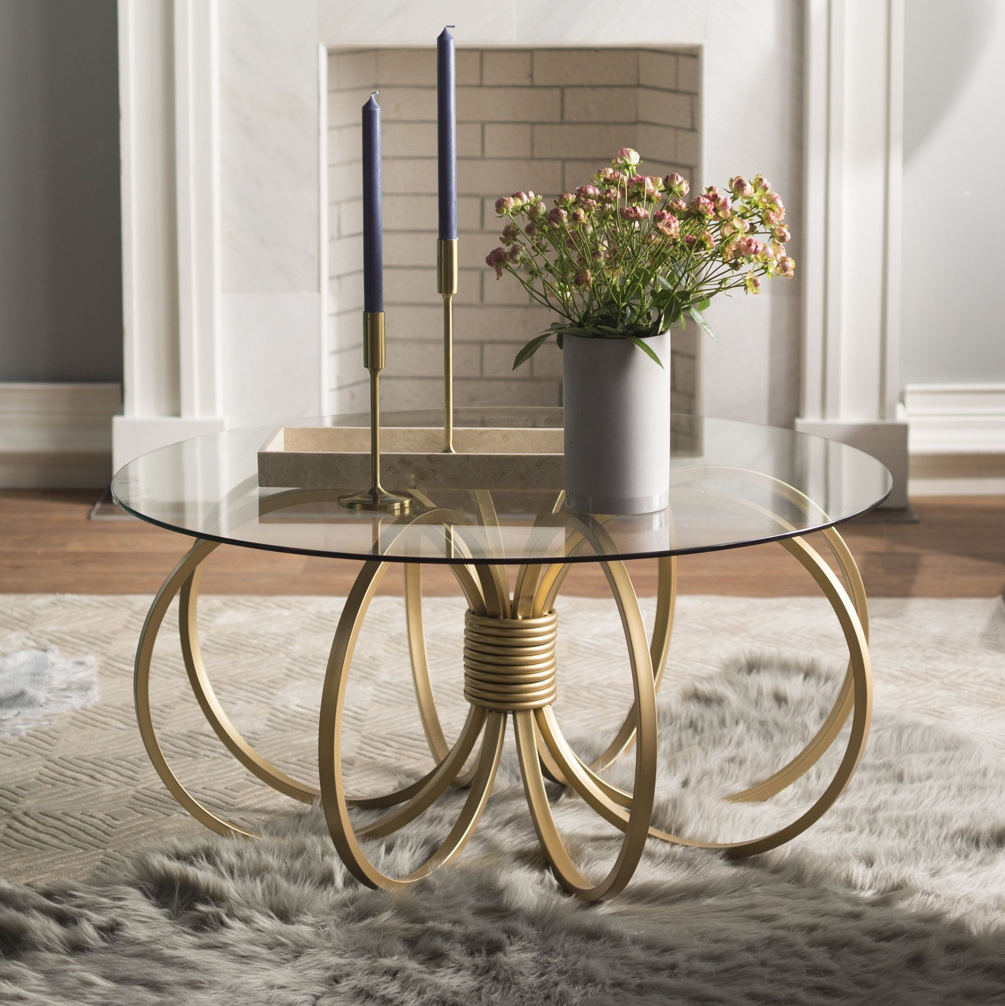 Isaloni 2019 Covethouse Table Decor Living Room Glass Table Living Room Coffee Table [ 2000 x 1998 Pixel ]