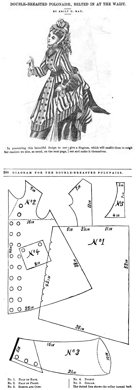Peterson\'s Magazine 1873 | mis vestidos | Pinterest | Moda, Patrones ...