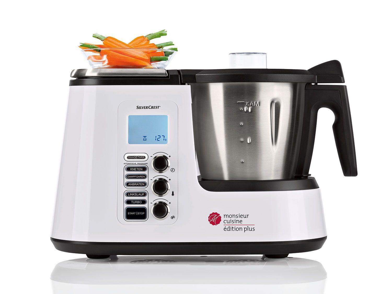 SILVERCREST® Küchenmaschine mit Kochfunktion Monsieur Cuisine ...