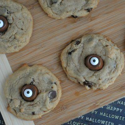 Rolo Monster Eye Cookies Recipe Monster eyes and Halloween parties