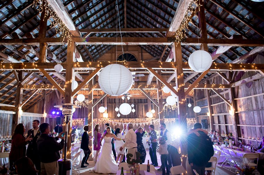Heritage House Barn Wedding Reception In Nashville Indiana By TALL Small Photography