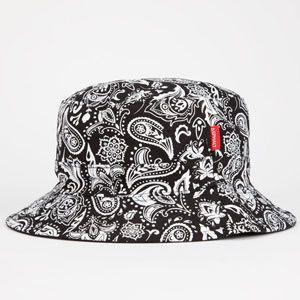 b5495805ead90 ASPHALT YACHT CLUB Paisley Box Mens Reversible Bucket Hat