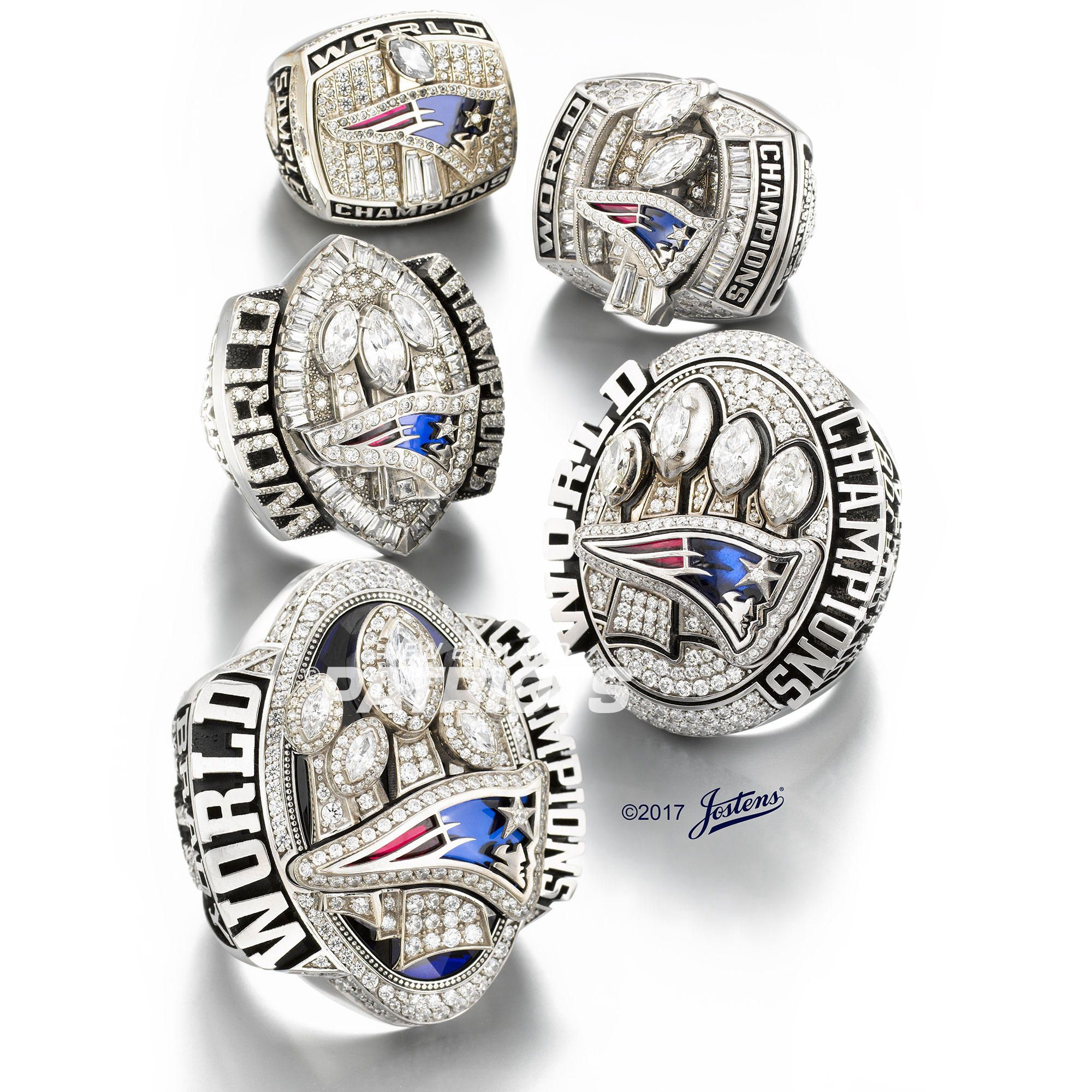 Photos Super Bowl LI Ring New england patriots rings