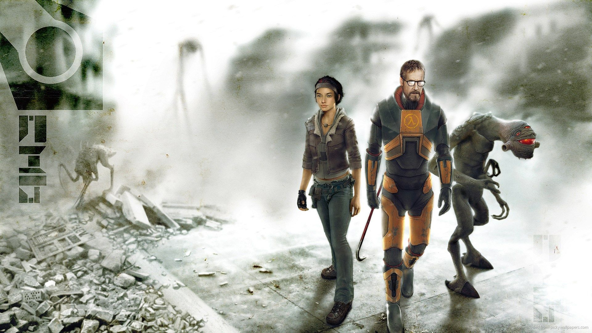 1920x1080 Half Life 2 Game Wallpaper