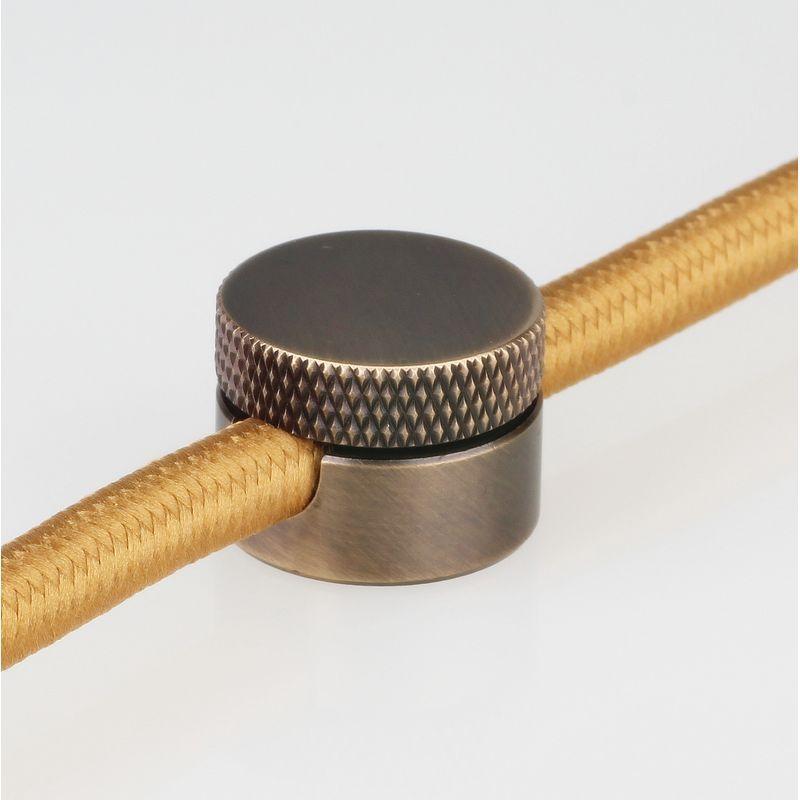 Lampen DistanzAufhänger Affenschaukel Kabelhalter Metall