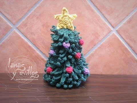 Tutorial De Amigurumis Navideños : Tutorial arbol navidad a crochet paso a paso en español