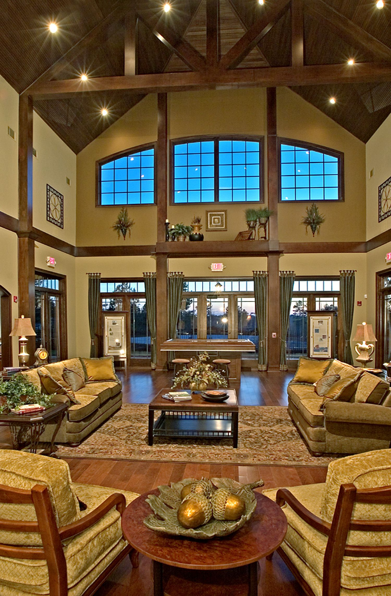 club golf interior atlanta clubhouses interiors homes clubhouse communities community visit houses ceiling
