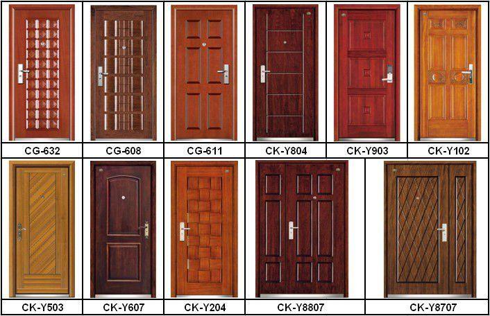 Wooden Door Designs For Home | Doorbells & Door Knockers | Wood if ...