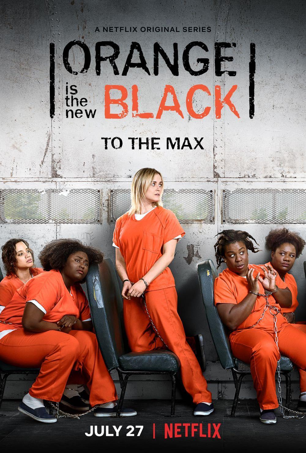 Orange Is The New Black Season 6 Trailer Poster Key Art Netflix Tv Oitnb Black Tv Series Black Tv Shows Orange Is The New
