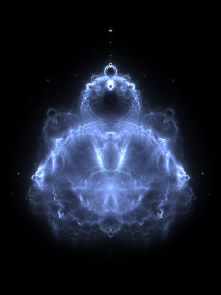 The Buddhabrot: a mathematical map related to the #Mandelbrot set that happens to look like the Buddha. #math
