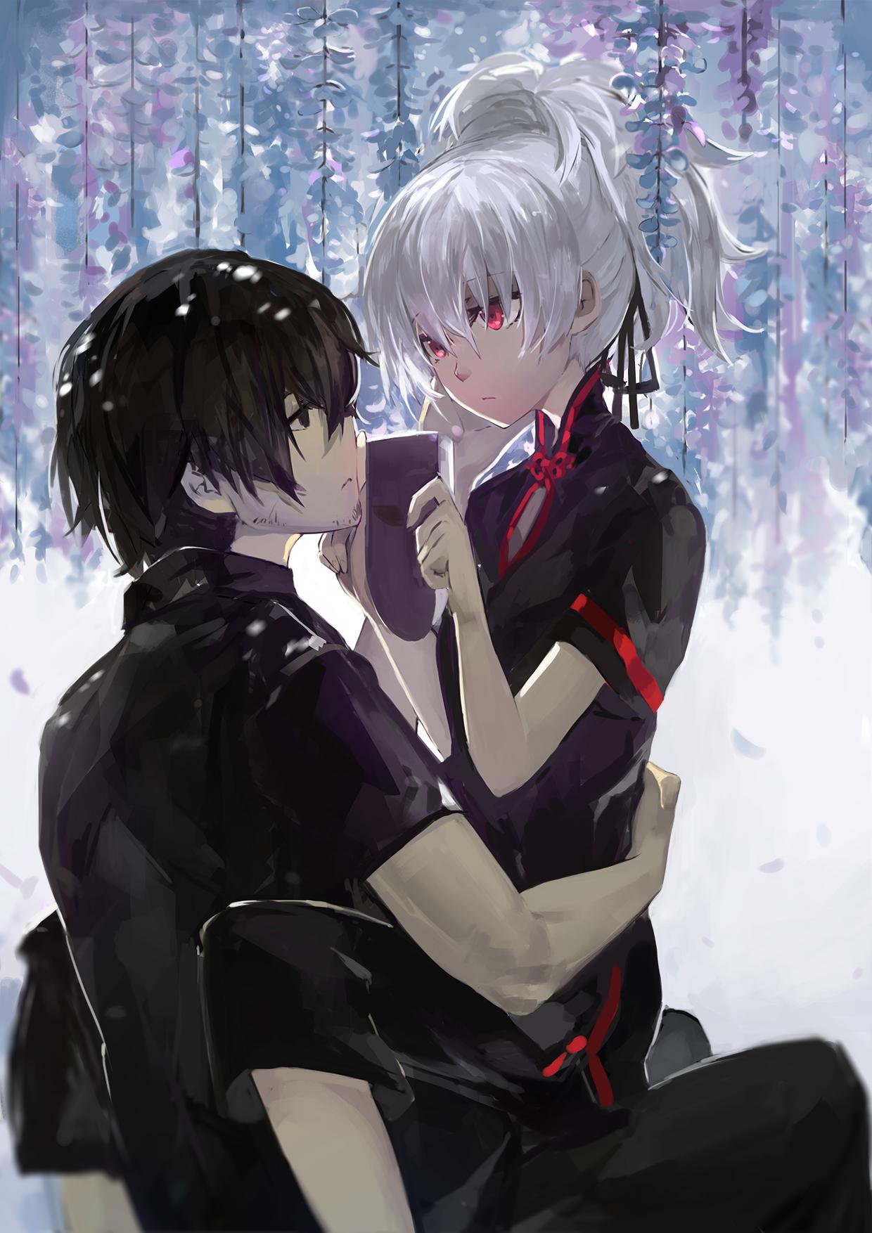 darker than black, hei, yin Sexe anime, Dessins d'anime