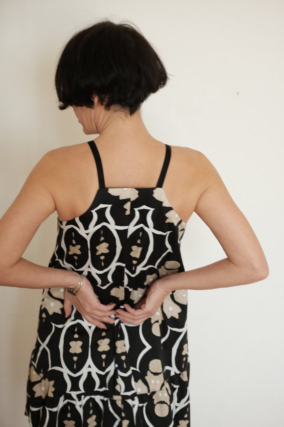 8fc16ba72950 Cotton Minidress - Short Dress - Print Minidress - Sleeveless Dress -  Cotton Short Clothing - Summer