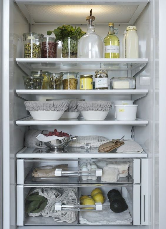 organizing our homes for the holidays kitchen decor modern fridge organization zero waste on kitchen organization zero waste id=17747
