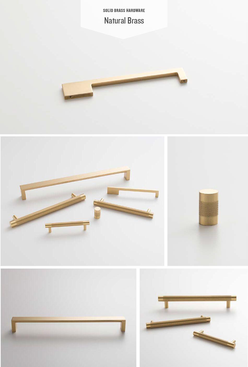 Spotlight Solid Brass Hardware Kitchen Cabinet Hardware Gold