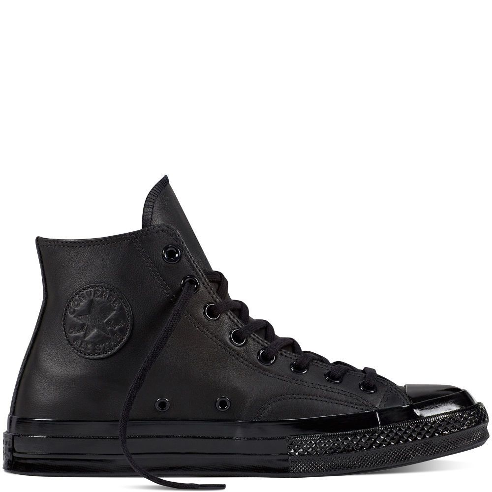 CONVERSE CHUCK TAYLOR ALL STAR '70 MONO LEATHER MEN'S BLACK