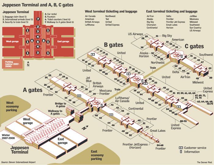 Denver Airport Map Google Search INTERNATIONAL AND