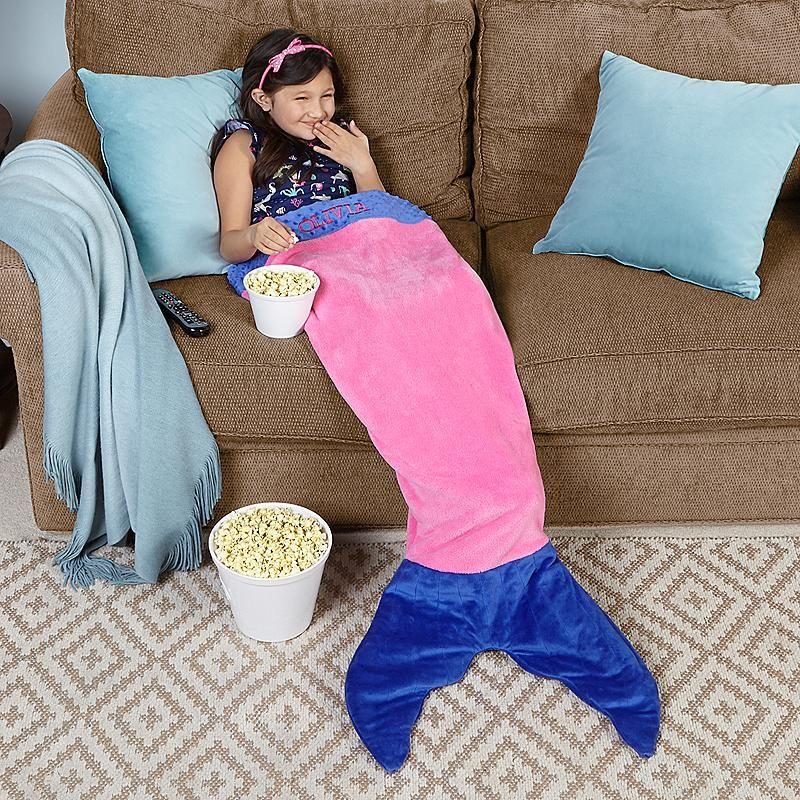 Blankie Tails® Mermaid Kids Blanket