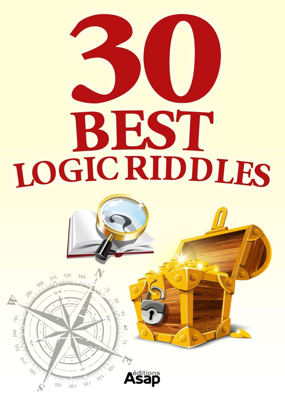 �0 best logic riddles , affiliate, riddles, books,