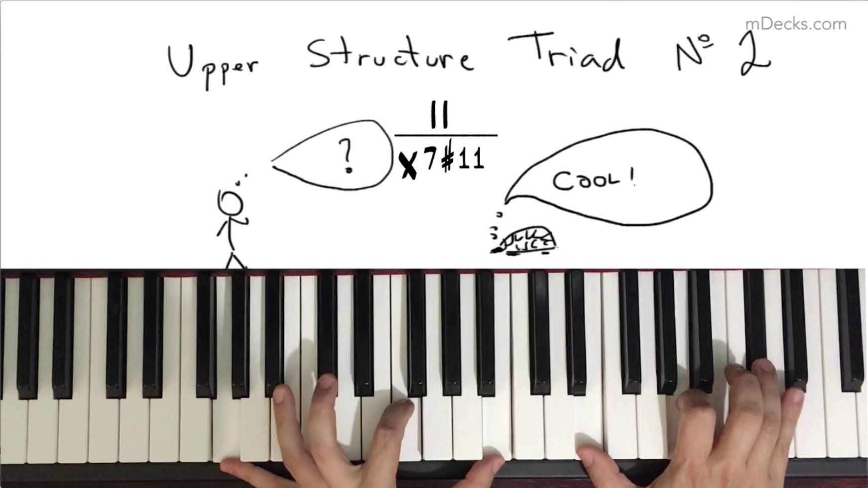 Upper Structure Triad No. 2 (the II major triad over X7#11)