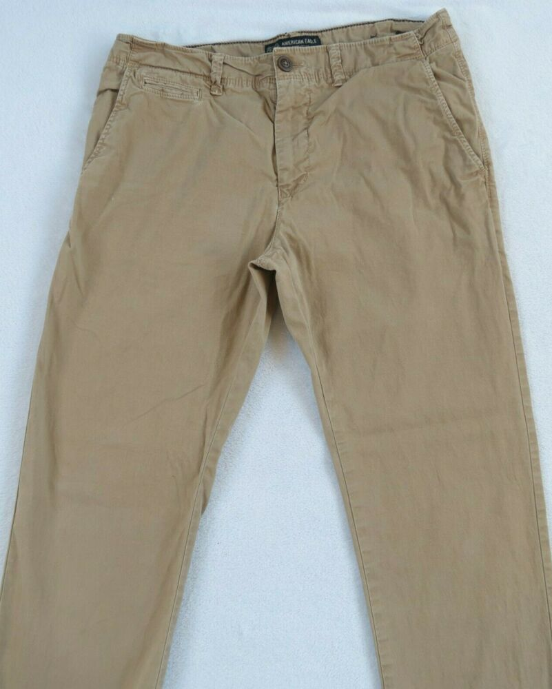 Mens Chino Pants Flat Front Slim Fit Lounge Cotton Stretch Twill Comfort NWT