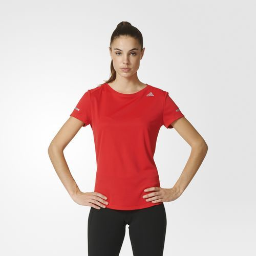Sequencials Climalite Run T-Shirt - rot