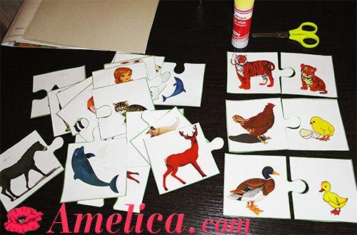 Как сделать развивающие карточки своими руками фото