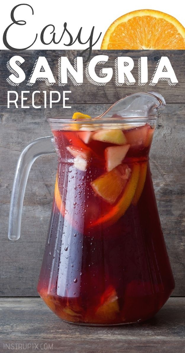Easy Classic Red Sangria