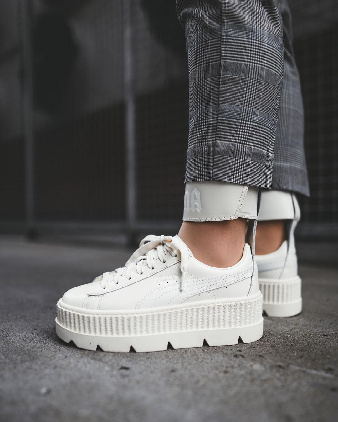 best loved 8576c dc3d7 Rihanna x Puma Fenty Ankle Strap Creeper