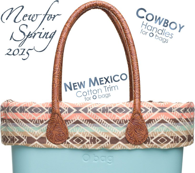 2da368c098 New Mexico Cotton Trim - an O bag accessory