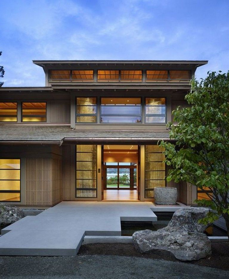 10 Luxury House Architecture Style To Follow Japanese Modern House Japanese Home Design Japanese House
