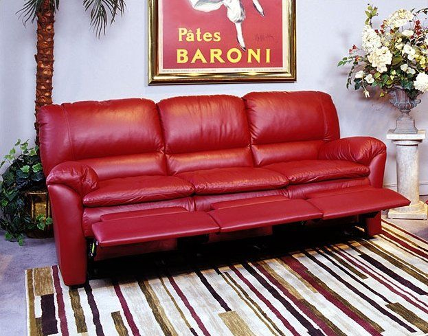 Luxor Leather Reclining Sofa With Images Leather Reclining Sofa Reclining Sofa Red Leather