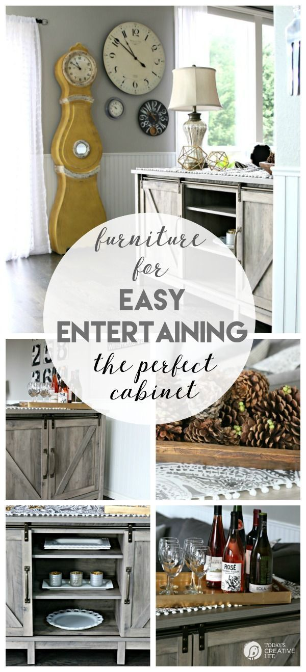Furniture for Easy Holiday Entertaining | Holidays, Easy and ...