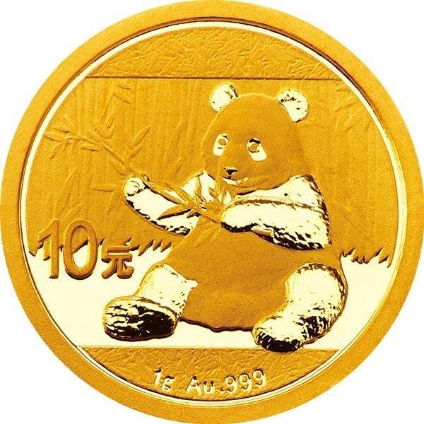 Mint Sealed 2019 China Gold Panda 1 g 10 Yuan BU