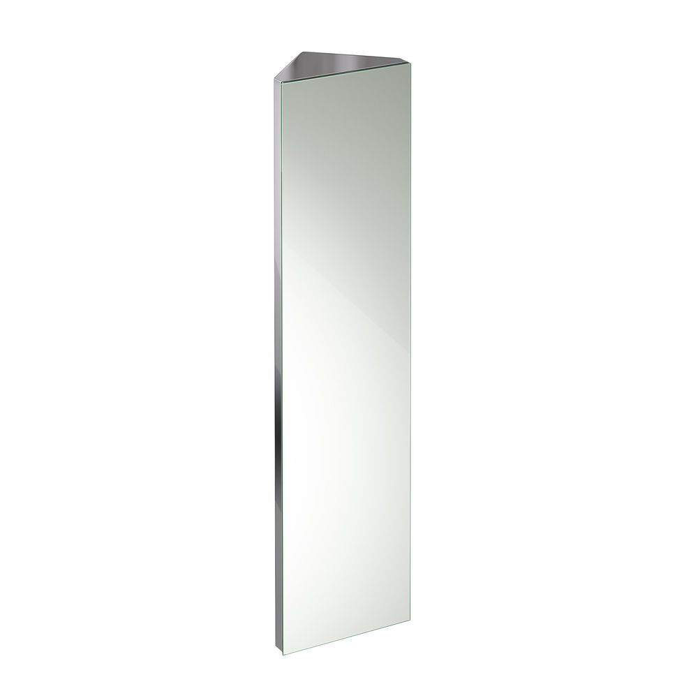1200 x 300 Tall Bathroom Mirror Cabinet Furniture Corner Storage ...