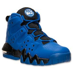 Boys' Grade School Nike Air Max Barkley Basketball Shoes | FinishLine.com |  Game