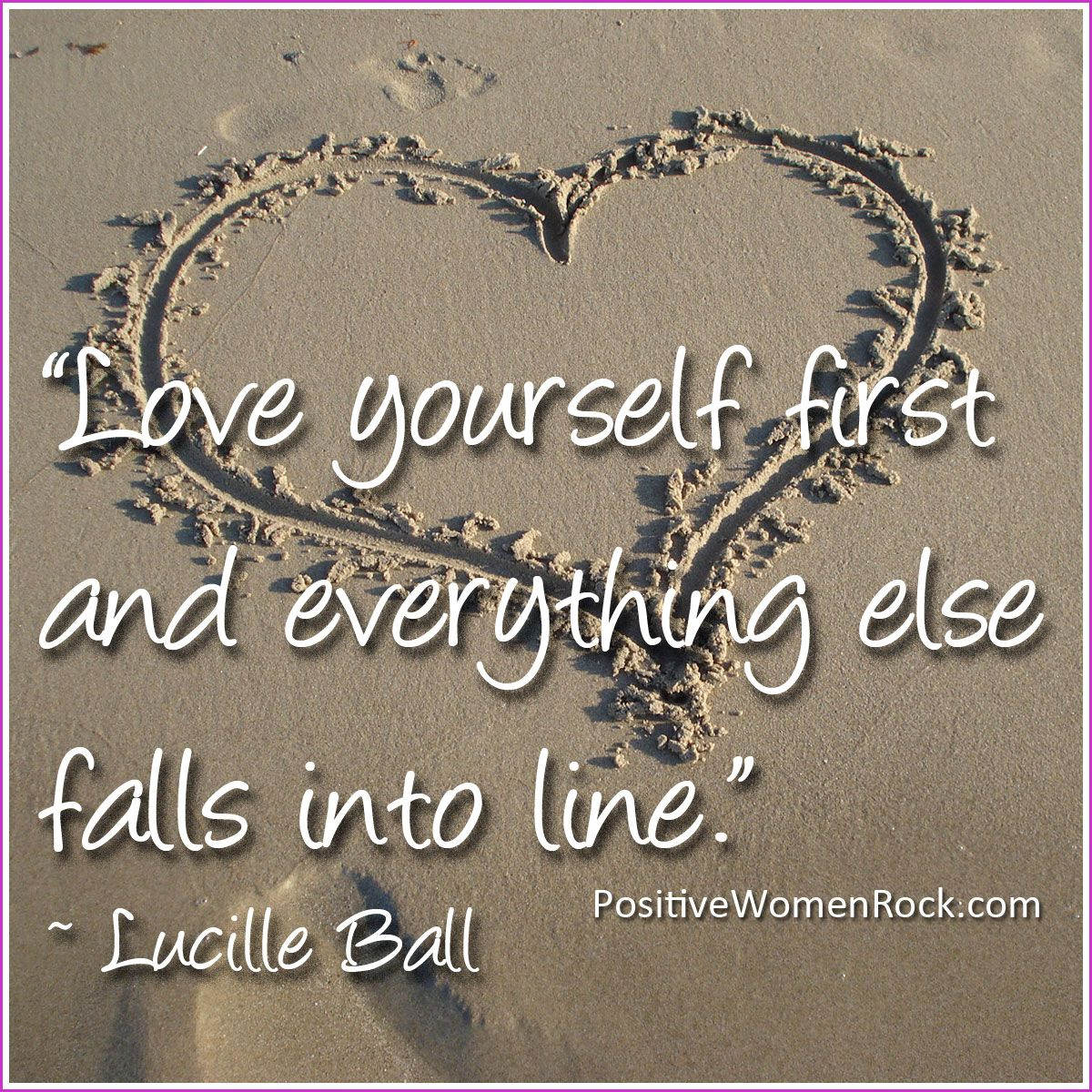 Loving yourself is ..VITAL. Free Life Strategies at http://PositiveWomenRock.com/gift