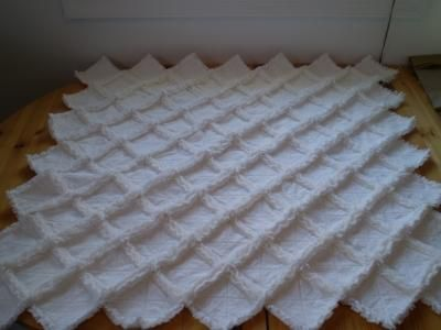 Looking for Simple Baby Quilt Pattern | Rag quilt, Fabrics and ... : rag quilt patterns instructions - Adamdwight.com