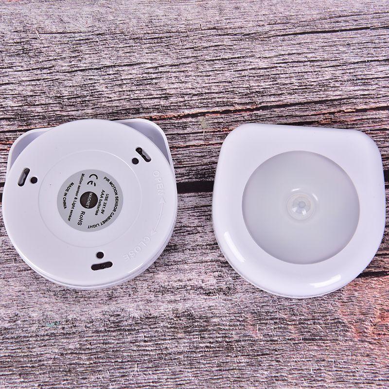 1 Unidad De Luz Led Nocturna Magnetica Inalambrica Detector De Luz De Pared Lampara Infrarroj En 2020 Luz Led Sensores De Movimiento Led
