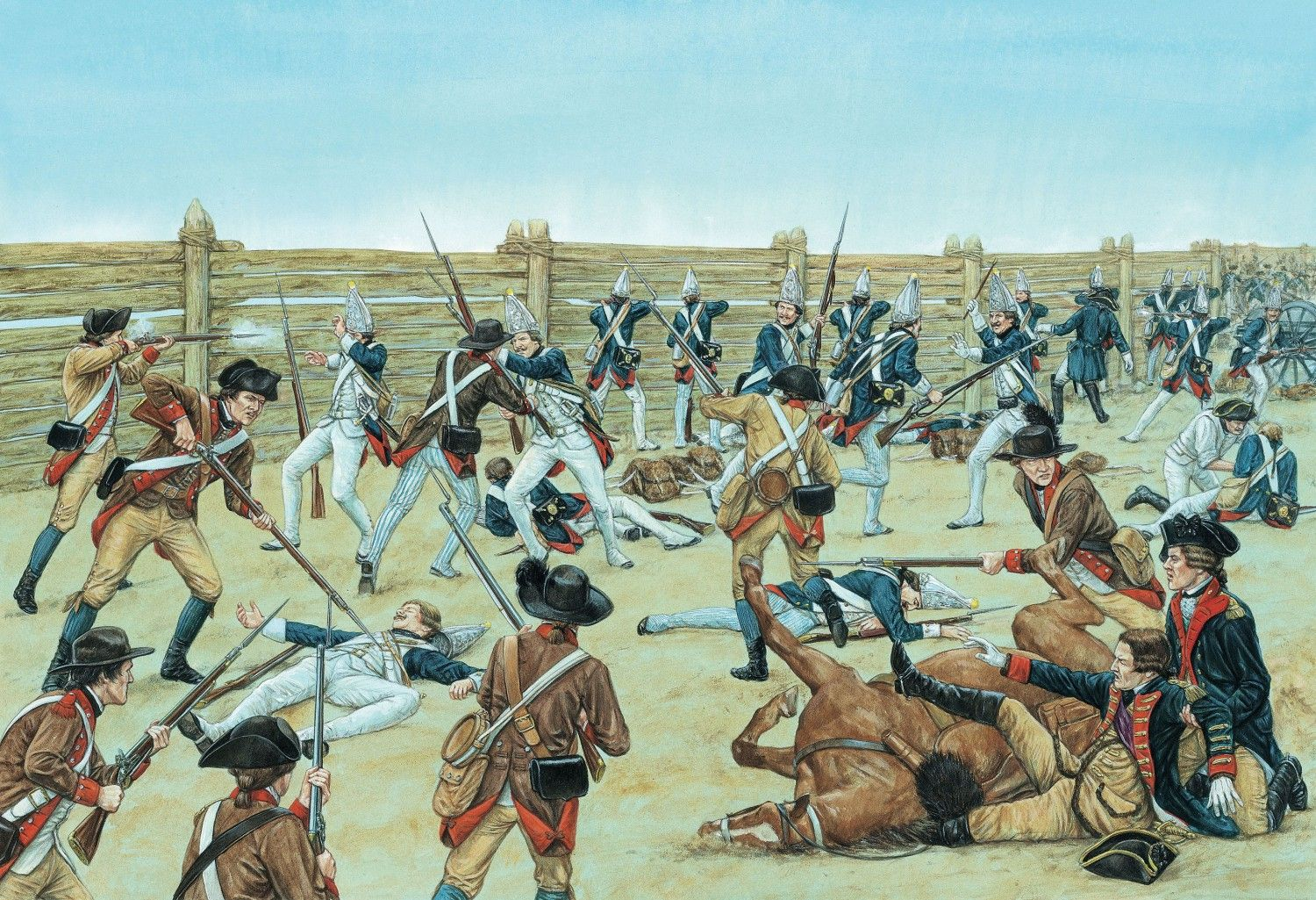 battle of saratoga The battle of saratoga is the turning point of the american revolutionary war the victory at battle of saratoga confirmed establishment of independent america.