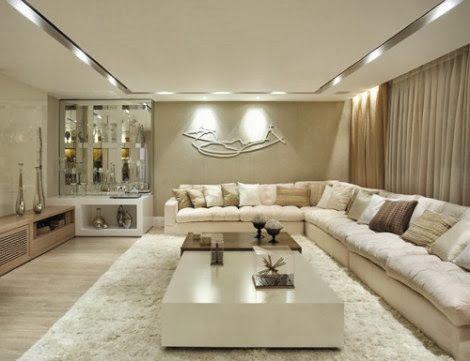 Salas De Estar E De Tv Modernas For The Home Pinterest