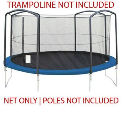 Jumpking Jumppod Bazoongi Orbounder Safety Net Only For 13 Ft Frame Trampoline Jump King With 4 A Trampoline Enclosure Trampoline Trampoline Springs