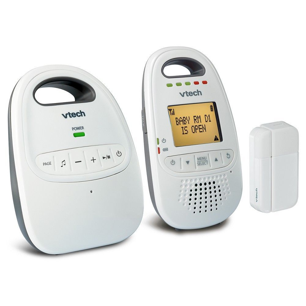 VTech Safe&Sound DM251-102 DE-Count 6.0 Digital Audio Baby Monitor ...