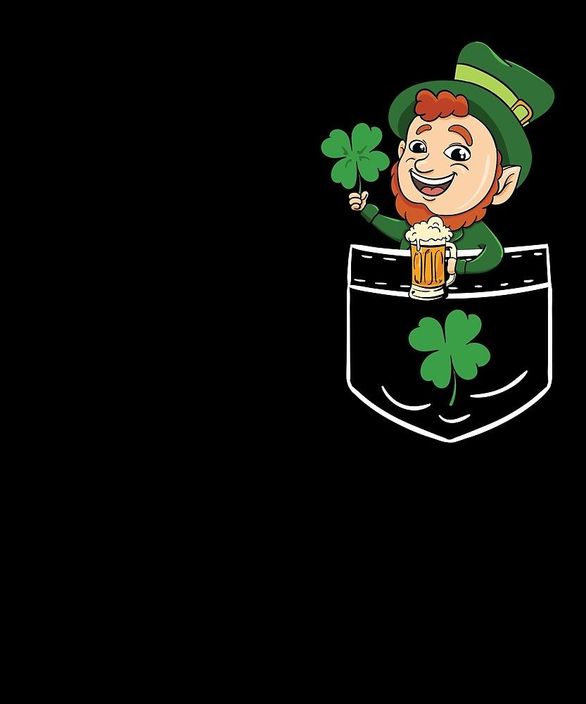St Patrick S Day Leprechaun Irish Pocket Pocket Funny Gift Tshirt Awesome Hilarious Funny Tee St Patricks Day Quotes Christmas Humor Funny Christmas Gifts