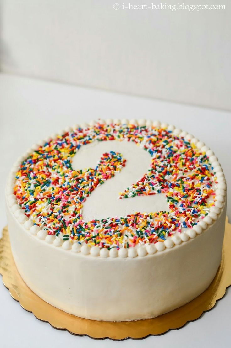 Einfacher Kuchen für einen 2-Jährigen - # 2-Jähriger #a # einfach # für # K… - Kindergeburtst...