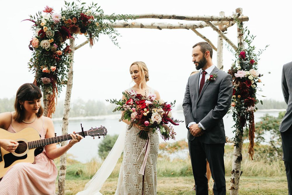Bad Rabbit Flowers Maine Wedding Florist Dark Wedding England Wedding Wedding Flowers Cost