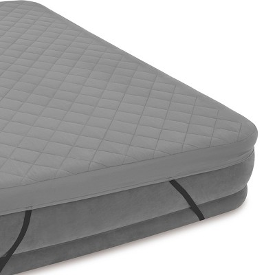 Intex Queen Quilted Airbed Cover For Air Mattress Up To 22 Tall